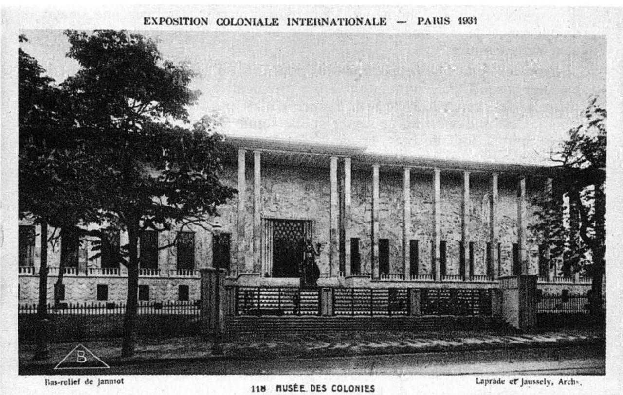 — inscriptions  en relation Palais de la Porte Dorée